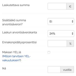 Paljonko kannattaa laskuttaa freelancerina tai kevytyrittäjänä? Ukko.fi palkkalaskuri