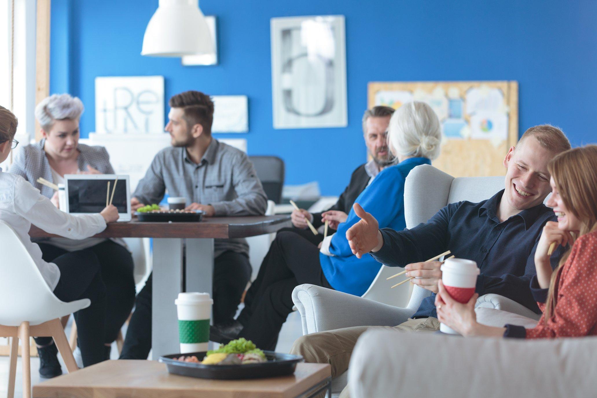 Yrityksen perustaminen: henkilökunnan viihtyvyys